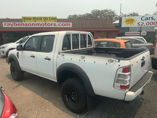 2010 Ford Ranger 3.0 T/D 4X4  AUTO White 4 Speed Automatic Dual Cab