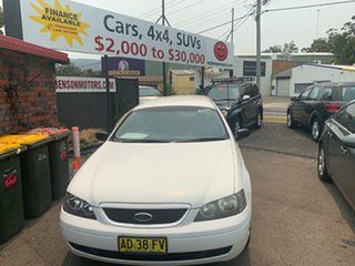 2003 Ford Falcon BA XT White 4 Speed Automatic Wagon