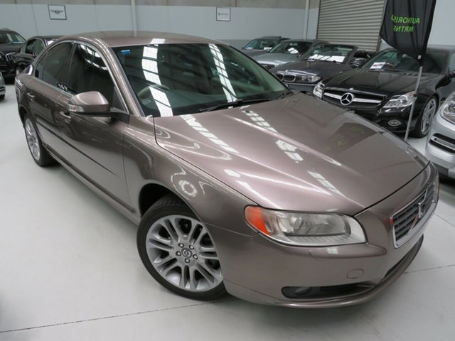 Used Volvo S80 A Series MY07 AWD, 2007 Volvo S80 A Series MY07 AWD Ash Gold 6 Speed Sports Automatic Sedan