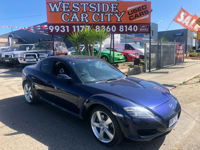 Used Mazda RX-8 MY06 , 2007 Mazda RX-8 MY06 Blue 6 Speed Manual Coupe