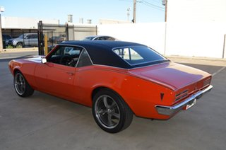 1968 Pontiac Firebird Orange 3 Speed Automatic Coupe