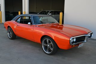 1968 Pontiac Firebird Orange 3 Speed Automatic Coupe.