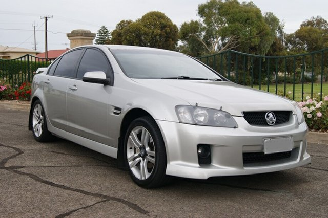 Used Holden Commodore VE SV6, 2006 Holden Commodore VE SV6 Silver 5 Speed Automatic Sedan