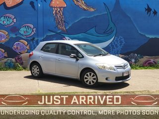 2009 Toyota Corolla ZRE152R MY10 Ascent Blue 6 Speed Manual Hatchback