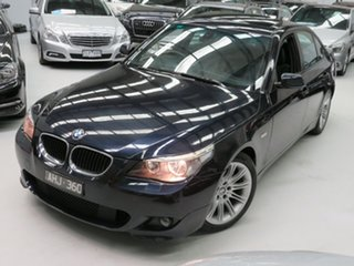2005 BMW 5 Series E60 525i Steptronic M Sport Dark Blue 6 Speed Sports Automatic Sedan