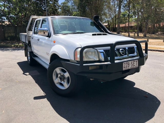 Used Nissan Navara D22 Series 5 ST-R (4x4), 2012 Nissan Navara D22 Series 5 ST-R (4x4) White 5 Speed Manual Dual Cab Pick-up