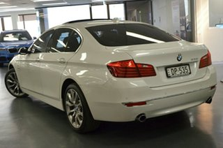 2015 BMW 5 Series F10 LCI 535i Steptronic Luxury Line White 8 Speed Sports Automatic Sedan.