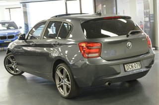2015 BMW 1 Series F20 MY0714 116i Steptronic Grey 8 Speed Sports Automatic Hatchback.