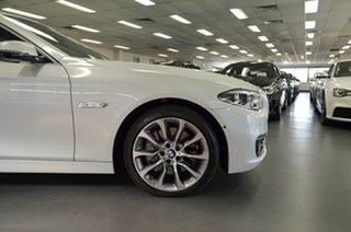 2015 BMW 5 Series F10 LCI 535i Steptronic Luxury Line White 8 Speed Sports Automatic Sedan