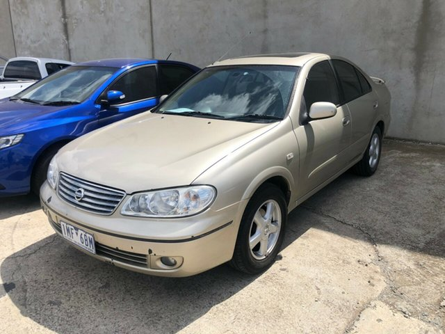Used Nissan Pulsar N16 MY04 Q Hoppers Crossing, 2005 Nissan Pulsar N16 MY04 Q Beige 4 Speed Automatic Sedan