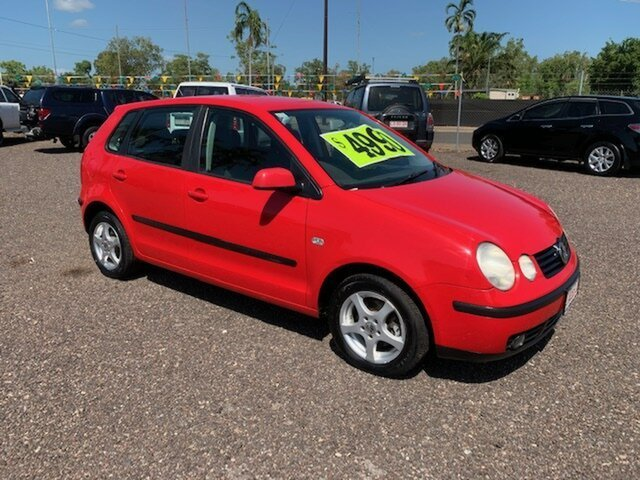 Used Volkswagen Polo  Elite, 2003 Volkswagen Polo Elite Red 4 Speed Auto Active Select Hatchback
