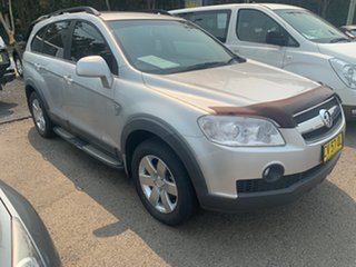 2010 Holden Captiva CG 7 SEATER TUR CX AUTO Silver 5 Speed Automatic Wagon.