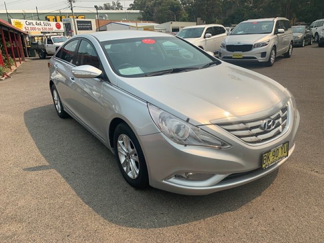 Used Hyundai i45 MY11 Active, 2011 Hyundai i45 MY11 Active Silver 6 Speed Automatic Sedan