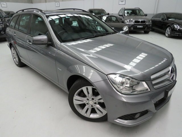 Used Mercedes-Benz C200 W204 MY11 CDI BE, 2011 Mercedes-Benz C200 W204 MY11 CDI BE Alabandine Grey 7 Speed Automatic G-Tronic Wagon