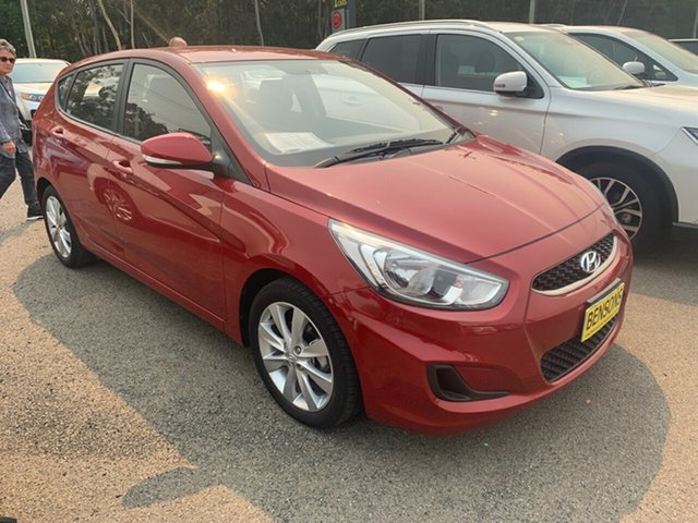 Used Hyundai Accent  Sport, 2018 Hyundai Accent Sport Maroon Automatic Hatchback