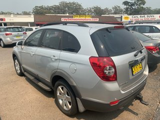 2010 Holden Captiva CG 7 SEATER TUR CX AUTO Silver 5 Speed Automatic Wagon