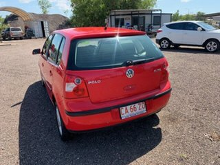 2003 Volkswagen Polo Elite Red 4 Speed Auto Active Select Hatchback