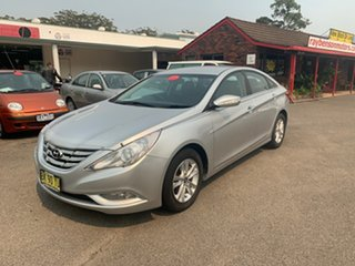 2011 Hyundai i45 MY11 Active Silver 6 Speed Automatic Sedan