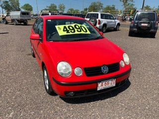 2003 Volkswagen Polo Elite Red 4 Speed Auto Active Select Hatchback.