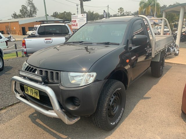Used Mitsubishi Triton MY09 , 2008 Mitsubishi Triton MY09 GL 2X4  Black 5 Speed Manual Cab Chassis