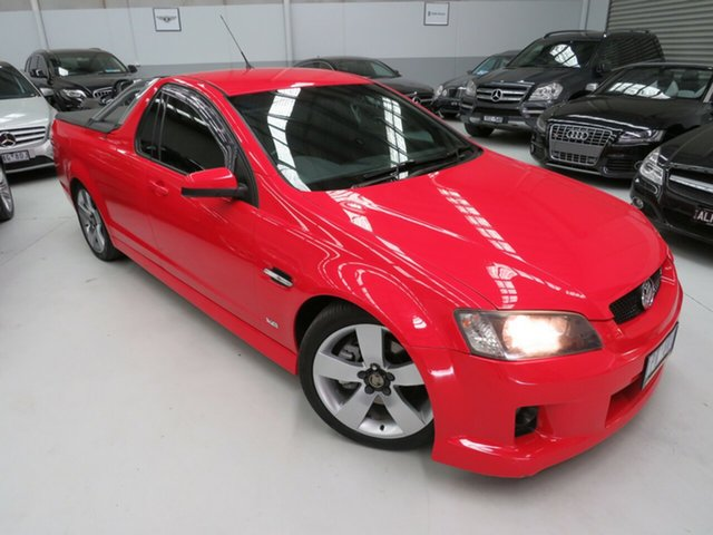 Used Holden Ute VE SS, 2008 Holden Ute VE SS Red 6 Speed Sports Automatic Utility