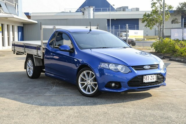 Used Ford Falcon FG MkII XR6 Ute Super Cab, 2014 Ford Falcon FG MkII XR6 Ute Super Cab Blue 6 Speed Sports Automatic Utility