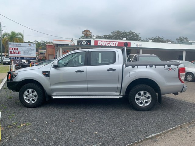 Used Ford Ranger PX , 2015 Ford Ranger PX XLS 3.2 4X4 Silver 6 Speed Automatic Dual Cab