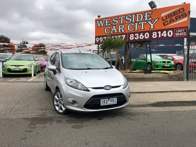 Used Ford Fiesta WS Zetec, 2009 Ford Fiesta WS Zetec Silver 4 Speed Automatic Hatchback