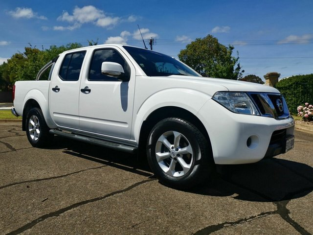 Used Nissan Navara  ST, 2014 Nissan Navara S7 ST White 6 Speed Manual Dual Cab