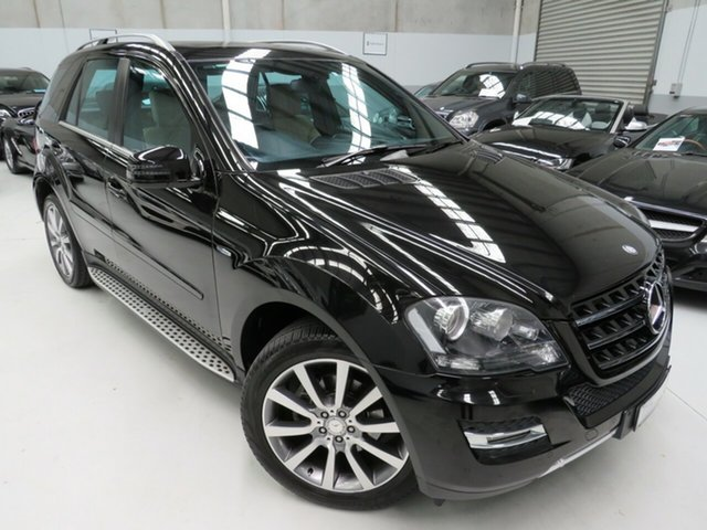 Used Mercedes-Benz M-Class W164 MY11 ML300 CDI BlueEFFICIENCY Grand Edition, 2011 Mercedes-Benz M-Class W164 MY11 ML300 CDI BlueEFFICIENCY Grand Edition Chromite Black 7 Speed