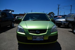 2006 Kia Rio JB EX Green 5 Speed Manual Hatchback.