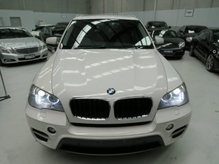 2011 BMW X5 E70 MY11.5 xDrive30d Steptronic Alpine White 8 Speed Sports Automatic Wagon