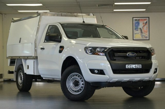 Used Ford Ranger PX MkII XL 4x2 Hi-Rider, 2016 Ford Ranger PX MkII XL 4x2 Hi-Rider White 6 Speed Sports Automatic Cab Chassis