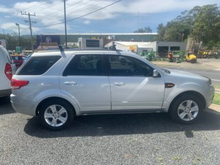 2013 Ford Territory TS Silver 6 Speed Automatic Wagon.