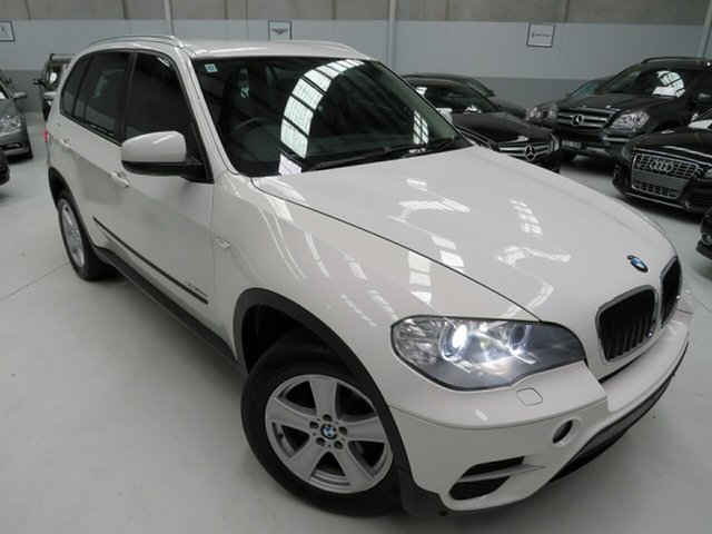 Used BMW X5 E70 MY11.5 xDrive30d Steptronic, 2011 BMW X5 E70 MY11.5 xDrive30d Steptronic Alpine White 8 Speed Sports Automatic Wagon