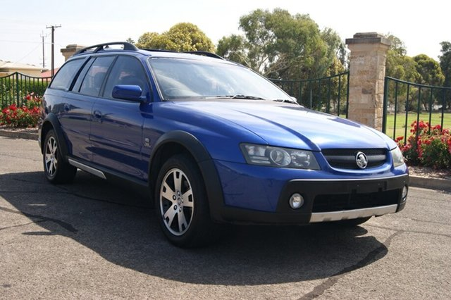 Used Holden Adventra VZ LX6, 2005 Holden Adventra VZ LX6 Blue 5 Speed Automatic Wagon