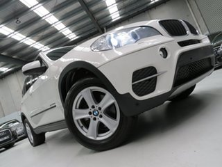 2011 BMW X5 E70 MY11.5 xDrive30d Steptronic Alpine White 8 Speed Sports Automatic Wagon.