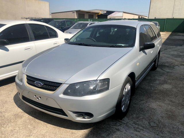 Used Ford Falcon BF MkIII XT, 2008 Ford Falcon BF MkIII XT Silver 4 Speed Auto Seq Sportshift Wagon