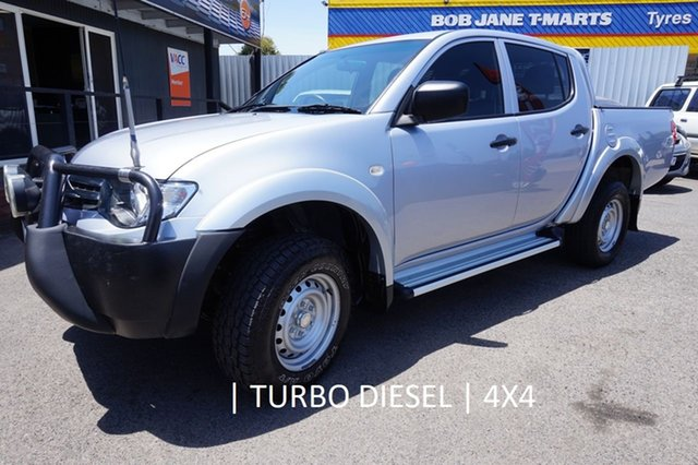 Used Mitsubishi Triton MN MY15 GLX Double Cab, 2014 Mitsubishi Triton MN MY15 GLX Double Cab Silver 5 Speed Manual Utility