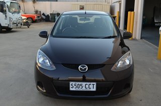 2008 Mazda 2 DE Maxx Purple 5 Speed Manual Hatchback.