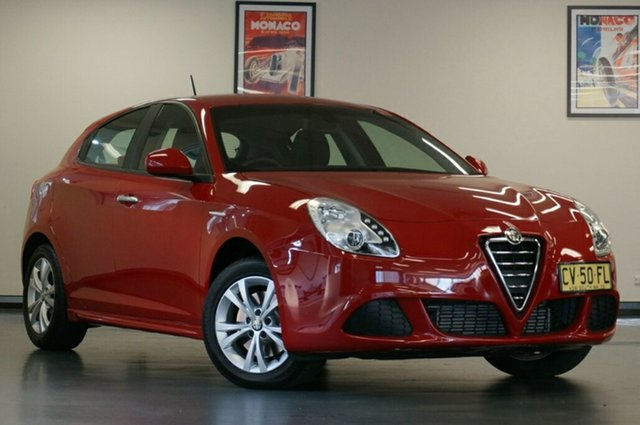 Used Alfa Romeo Giulietta Series 0 MY13 Progression TCT JTD-M, 2013 Alfa Romeo Giulietta Series 0 MY13 Progression TCT JTD-M Red 6 Speed