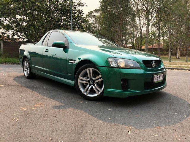 Used Holden Commodore VE MY09.5 SV6, 2009 Holden Commodore VE MY09.5 SV6 Green 5 Speed Automatic Utility