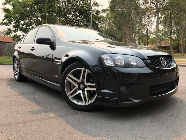 Used Holden Commodore VE II SS, 2011 Holden Commodore VE II SS Black 6 Speed Manual Sedan