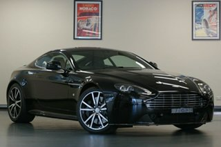 2014 Aston Martin V8 MY14 Vantage Sportshift II S Onyx Black 7 Speed Seq Manual Auto-Clutch Coupe.