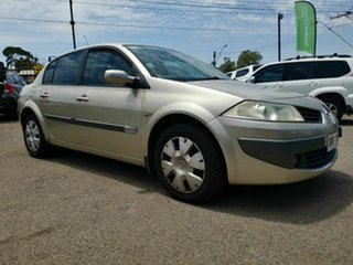2006 Renault Megane Expression Bronze 4 Speed Automatic Sedan.