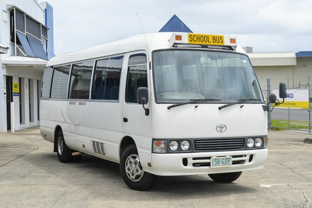 Used Toyota Coaster  Deluxe (LWB), 2000 Toyota Coaster Deluxe (LWB) White Bus 4.2l 4x2