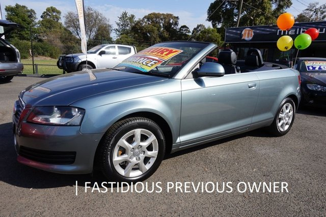 Used Audi A3 8P MY10 TFSI S Tronic Attraction, 2010 Audi A3 8P MY10 TFSI S Tronic Attraction Amethyst Grey 7 Speed Sports Automatic Dual Clutch