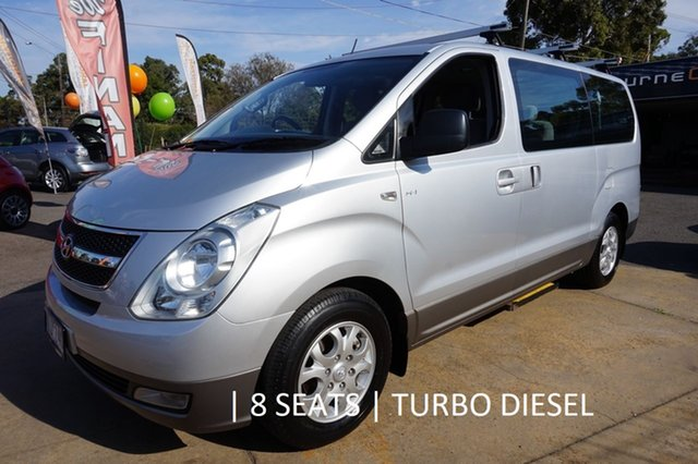Used Hyundai iMAX TQ-W Selectronic, 2010 Hyundai iMAX TQ-W Selectronic Hyper Metallic 5 Speed Sports Automatic Wagon