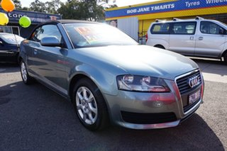 2010 Audi A3 8P MY10 TFSI S Tronic Attraction Amethyst Grey 7 Speed Sports Automatic Dual Clutch