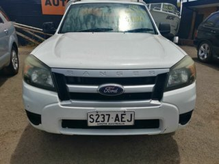 2009 Ford Ranger PK XL (4x2) White 5 Speed Manual Cab Chassis